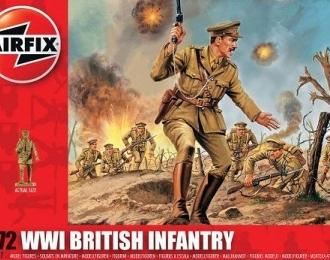 Сборная модель Британская пехота (Первая Мировая война)