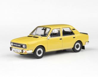 Škoda 120L 1982 - Žlutá Kanárková - Abrex 1:43