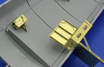 Цветное Фототравление для B-25 fuselage interior