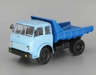 МАЗ-503 (1963) самосвал, голубой / синий