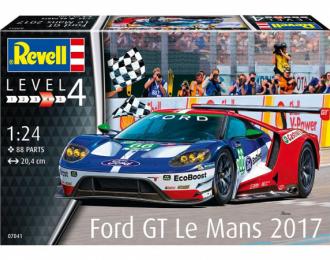 Сборная модель Ford GT Le Mans 2017