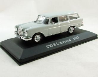MERCEDES-BENZ 230 S Universal (1967), Mercedes-Benz Offizielle Modell-Sammlung 12, серый
