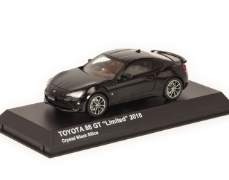 Toyota GT86 Coupe Facelift 2017 черный