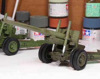 А-19 - 122-мм корпусная пушка (сдвоенные колеса, со следами эксплуатации)