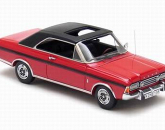 FORD Taunus P7 coupe 20M RS 1971, Red/Black