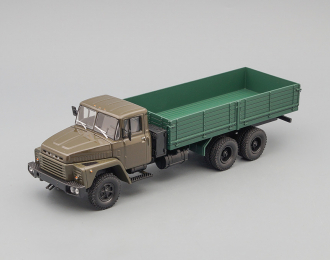 КРАЗ 250 бортовой (1977-1989), серо-зеленый