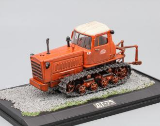 (Конверсия!) ДТ-75, Тракторы 12, оранжевый с белой крышей