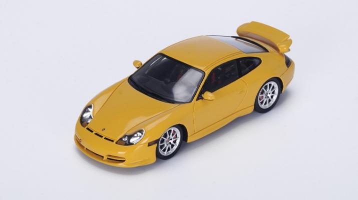 PORSCHE 996 GT3 (1999), yellow