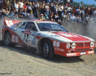 Сборная модель Автомобиль LANCIA 037 RALLY 1983