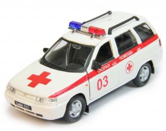 ВАЗ 2111 / LADA 111 Скорая Помощь, белый