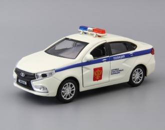 LADA Vesta Полиция, white