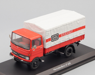 MERCEDES-BENZ LP608 DB (грузовик с тентом) 1970, red