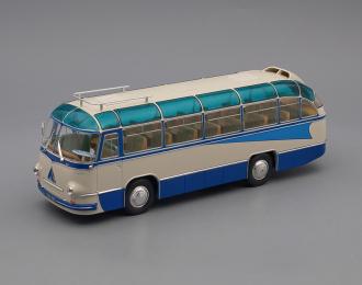 ЛАЗ 695Б туристический Стрела (1958), белый / синий