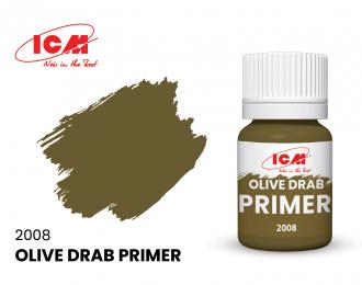 Грунтовка Оливковый / Olive Drab 17 мл.