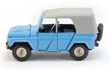 УАЗ 469 номерной А34, голубой
