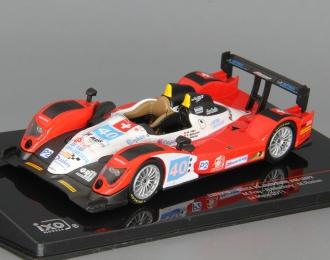 BMW ORECA 03-JUDD 40 M.FREY R.MEICHTRY M.ROSTAN LMP2 Le Mans 2011, red / black / white