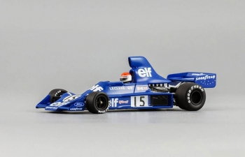TYRRELL Ford 007 M.Leclere (1975), blue