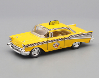 CHEVROLET Bel Air Taxi (1957), yellow