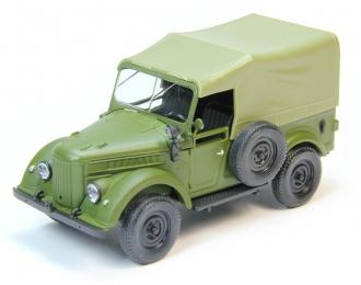 Горький 69 с тентом, зеленый матовый