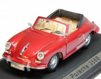 PORSCHE 356B, dark red