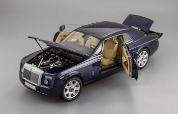 ROLLS-ROYCE Phantom Coupe, peacock blue