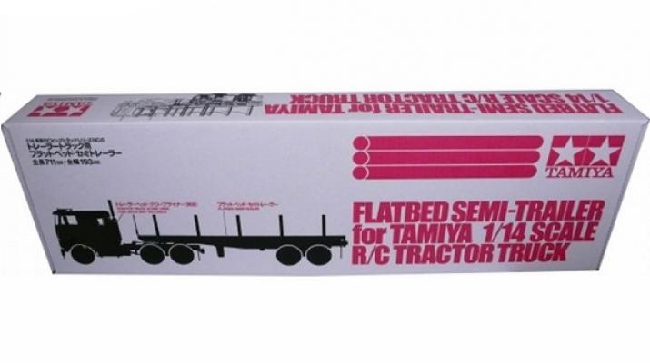 Полуприцеп для грузовика, двухосный бортовой