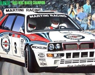 Сборная модель LANCIA Super Delta ('92 WRC Makes Champion)