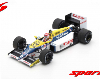 Williams FW11 #6 Winner Brazilian GP 1986 Nelson Piquet