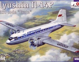 Сборная модель Советский пассажирский самолет Ил-14П
