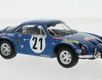 RENAULT Alpine A110 #21 Nicolas/Vial 3 место Rally Monte Carlo 1973