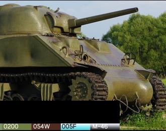 "Набор красок для Американский средний танк ""Шерман"""