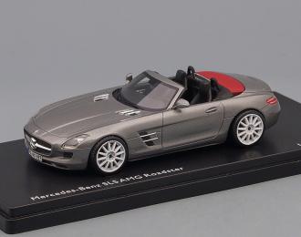 (Уценка!) MERCEDES-BENZ SLS AMG Roadster R197 (2011), grey metallic