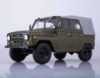 УАЗ-469 (31512) с тентом, хаки