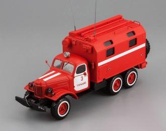 ЗИЛ 157К кунг-пожарный автомобиль ППУ (передвижной пункт управления)