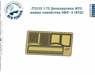 Фототравление Деталировка МТО машин семейства БМП-2 (ФТД, для ACE)