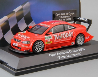 OPEL Astra V8 Coupe Dumbreck DTM #19 (2003), red
