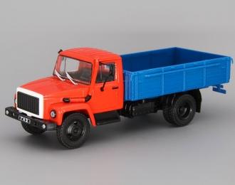 Горький 3309, Грузовики СССР 21, синий / красный