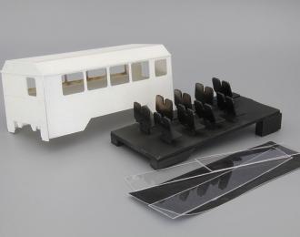 (КИТ) Надстройка Вахта для Уральский грузовик (с задней дверью)