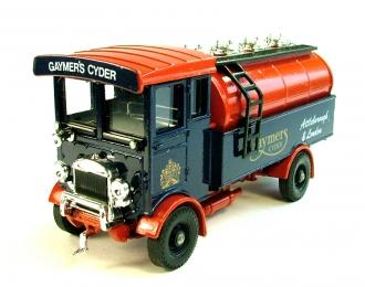 "AEC 508 forward control 5 ton Cabover ""Gaymer's Cyder"", красно-коричневый с синим"