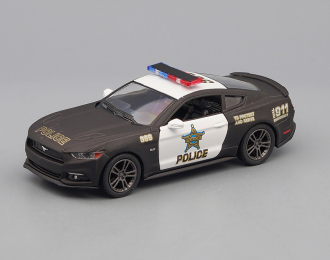 FORD Mustang GT Police (2015), matte black / white