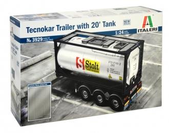 Сборная модель Прицеп TecnoKar 20 Tank Trailer