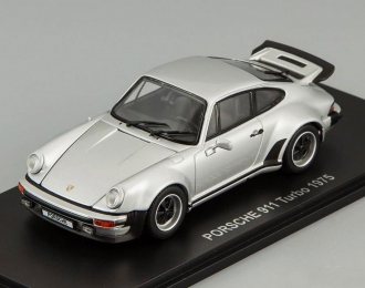PORSCHE 911 Turbo (1975), silver