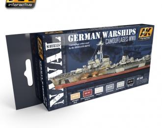 Набор акриловых красок German Warships Set (немецкие корабли)(6 красок)