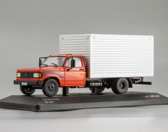 CHEVROLET D-40 (фургон) 1985 Red/Silver