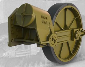 Набор дополнений ленивец с шиной, для легкого танка США M5A1 (ПОЗДНИЙ) / M8 HMC (ПОЗДНИЙ)
