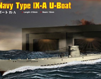 Сборная модель Подводная лодка German Navy Type IX-A U-Boat