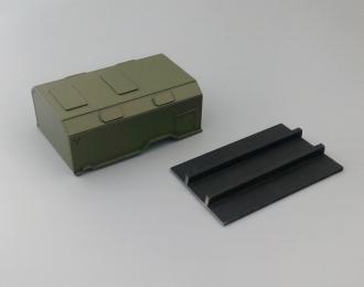 Надстройка Кузов унифицированный нормального габарита десантный для Горький-66, хаки