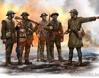 Сборная модель Британская пехота, период Битвы на Сомме, 1916