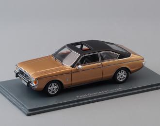 FORD Granada Coupe, gold / black