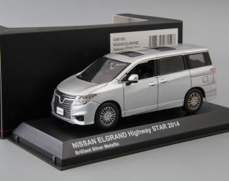 NISSAN Elgrand Highway Star (2014), brilliant silver metallic